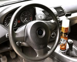 Sliss : om het dashboard van de wagen te onderhouden