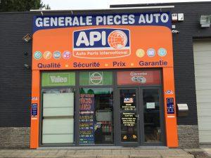Generale Pieces Auto Gosselies vends les produits Goldcar